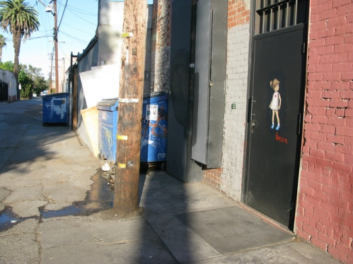 Becca street art Los Angeles