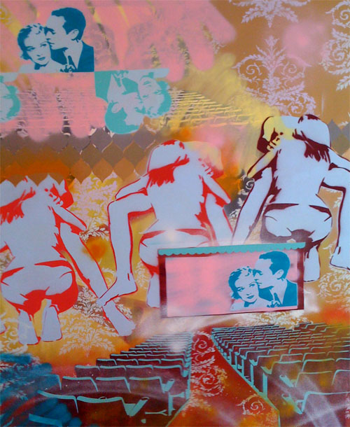 Casey Grey stencil