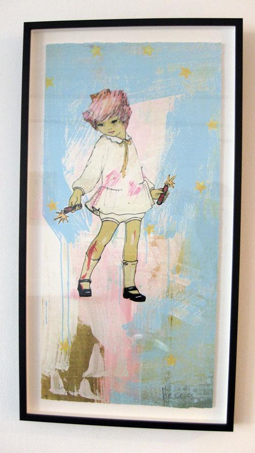 Dynamite Girl print