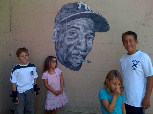 Hugh Leeman street art in San Francisco