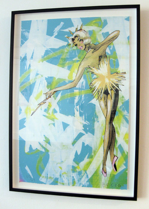 Tinkerbell print by Becca