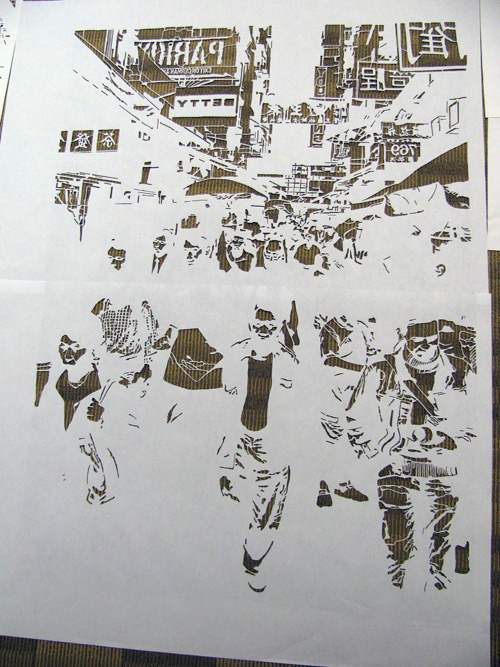 david soukup stencil 4