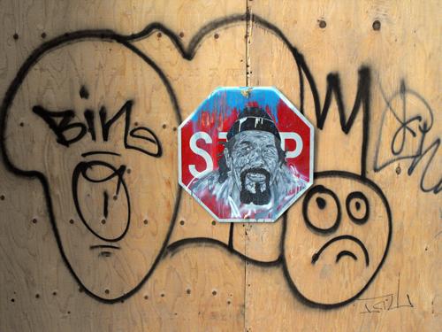 Hugh Leeman street art 2