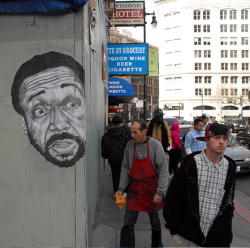 Hugh Leeman street art 3