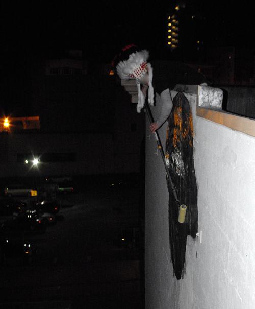 Hugh Leeman street art 4