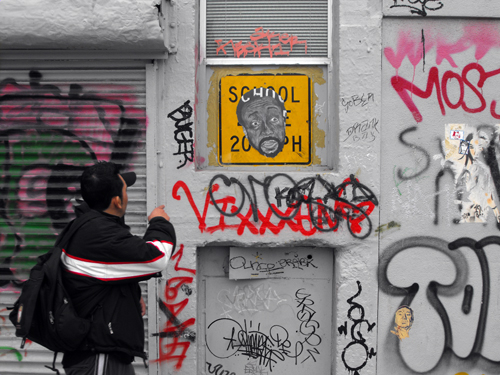 Hugh Leeman street art 5