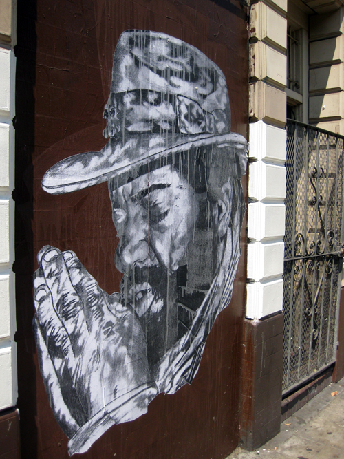 Hugh Leeman street art San Francisco
