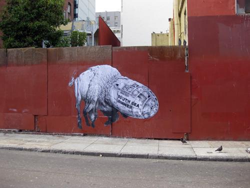 Jesse Hazelip street art